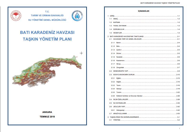 Uygulanamayan Batı Karadeniz Havzası Taşkın Yönetim Planı